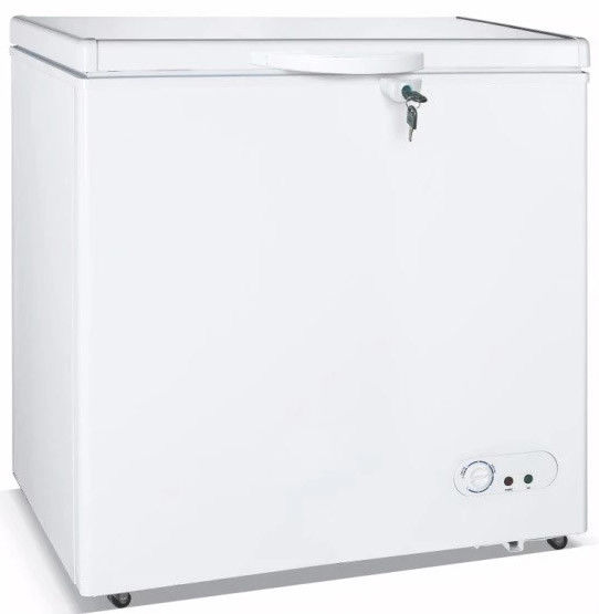 300L Low Noise Design Top Open One Solid Door Commercial Refrigerator,Chest Freezer